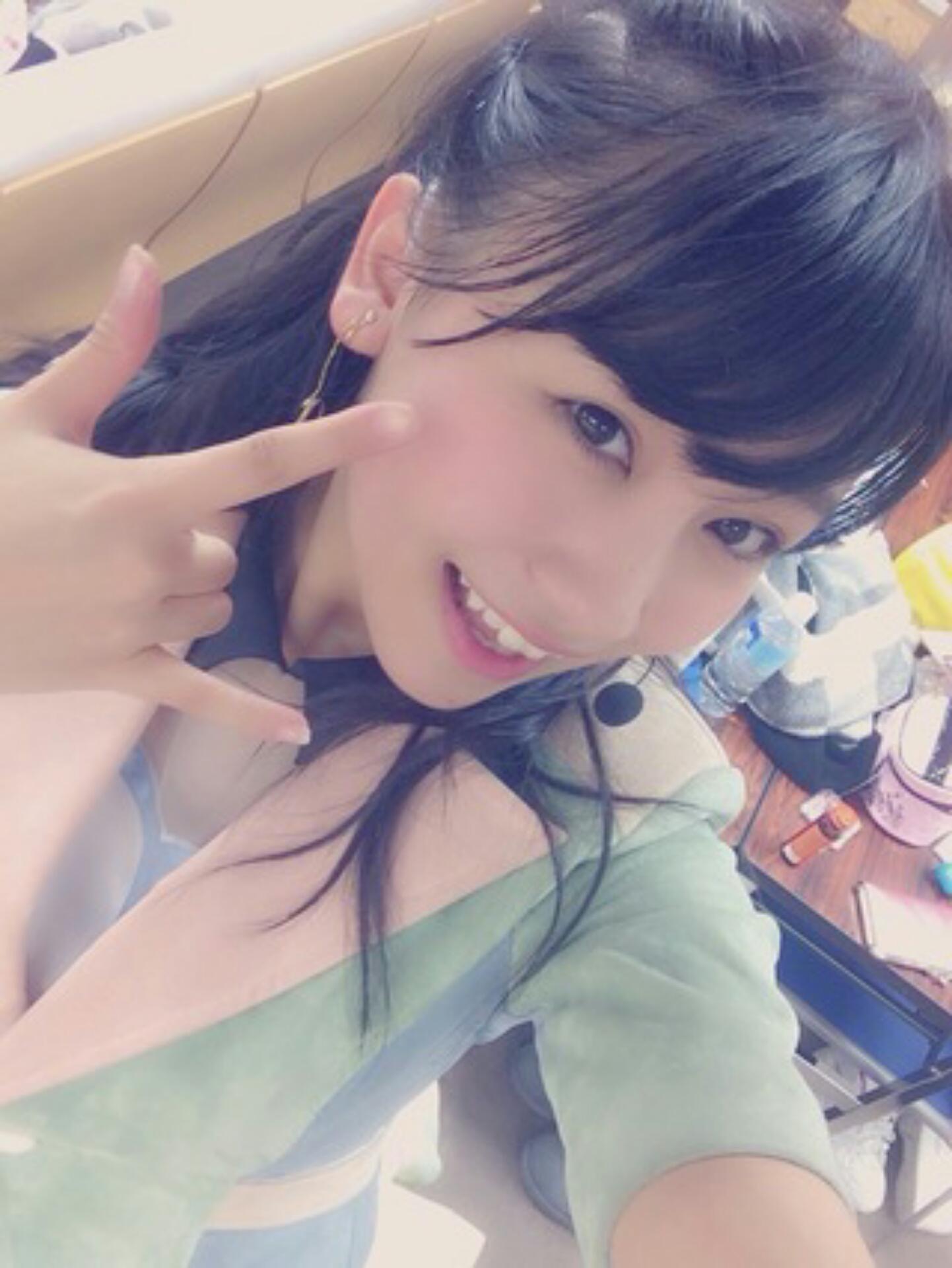とってもいい笑顔の小嶋真子